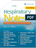Respiratory Notes Sample Chapter