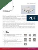 Quectel AG15 C-V2X Specification V1.0