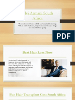 The Leading Hair Transplant Clinic in Johannesburg