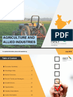Agriculture and allied products Market report