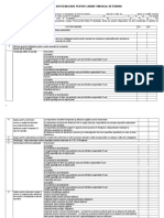 Raport Autoevaluare Cabinet