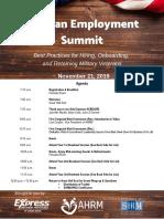 West Michigan Veteran Employment Summit