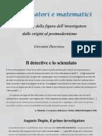 Presentazione Detective e Matematici