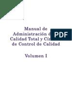 Manual de La Administraci{on de La Calidad Total