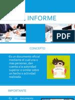 El Informe - Diapositivas