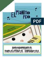 Propuesta didáctica El Pianito Feo