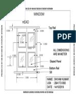 AutoCADDoor Window Model