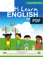 (ENGLISH GRADE 3 Pupils Book)