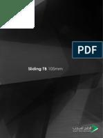 Sliding TB 105mm