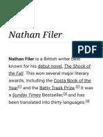 Nathan Filer - Wikipedia