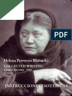 (H.P. Blavatsky) - Instrucciones Esotericas
