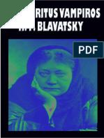 (H.P. Blavatsky) - Los Espiritus Vampiros