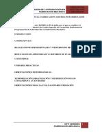 PROGRAMACIÓN DE LA PRODUCCIÓN EN FABRICACIÓN MECÁNICA