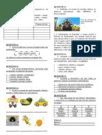 Acentuação Sílaba Tônica Classificação da Sílaba Oxítona Paroxítona Proparoxítona Atividade Exercício Avaliação Prova