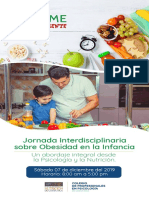 Programa Jornada de Obesidad en La Infancia