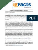 NIDA (2019.b):Genética y epigenética de la adicción