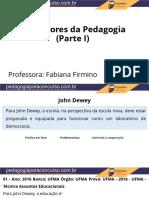 Pedagogia Parte 1 em slides