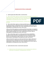 Exercício Da Aula Online Ética e Legislação