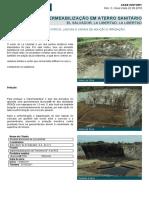 Imperm. de Reservatrios Lagoas e Canais de Aduo e Irrigao Impermeabilizao Em Aterro Sanitrio