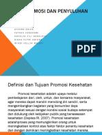 Model Promosi Dan Penyuluhan Kesehatan PPT