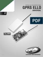 Manual de Instrucoes GPRS Ello Universal Rev0