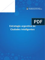 Estrategia Argentina de Ciudades Inteligentes