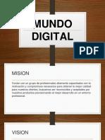 Mundo Digital Diapositiva