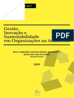 Gestão Inovação e Sustentabilidade Em Organizações Na Amazônia