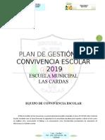 Plan de Gestión Convivencia Escolar 2019