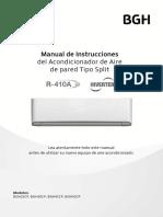 68b007023 Maninst Spl Bgh Inverter GU1