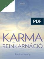 KARMA ÉS REINKARNÁCIÓ - Stephen Knapp