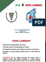 Fisioterapia Na Dor Lombar