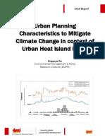 Urban Heat Island Effect Report