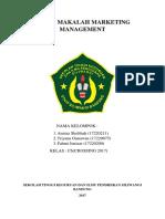 TUGAS MAKALAH MARKETING MANAGEMENT KELOMPOK 4 KELAS C6 CROSSING 2017.docx