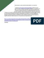 Normatividad y Legislacion Que Regula El Agua Como Recurso Hidrico y La Clase en 5 Cateorias
