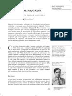 Ettore Majorana Dal Presente Al Passato