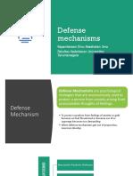Defense Mechanisms- Psikiatri