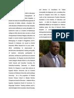 Dr. Cleophus Mugenyi