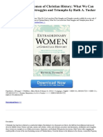 Extraordinary Women of Christian History What We Can Learn From Their Struggles and Triumphs (1)