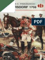 Historyczne Bitwy 072 - Kunersdorf 1759, Miroslaw G. Przeździecki.pdf