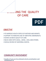 ENSURING THE  QUALITY OF CARE.pptx