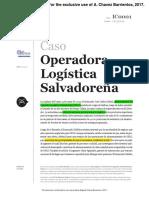 Opls el salvador caso de estudio logística