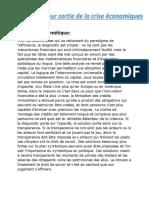Solutions des crise eco.pdf