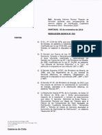 Fijacion formulas tarifas electricas en Chile