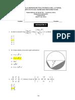 2012 - Invierno Matematicas 0A Ingenierias v0 2da_evaluacion