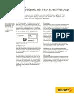 PP Brieffrankierung Die Post