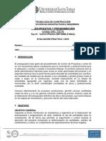 Prac_ Presupuesto y Programacion 1-2019