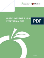 Guidelines for a Healthy