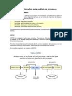 SIPOC – Una Alternativa Para Análisis de Procesos