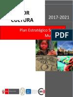 PESEM Sector Cultura 2017 2021